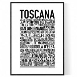 Toscana Poster
