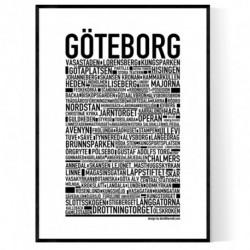 Göteborg XL Poster