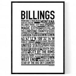 Billings Poster