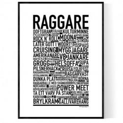 Raggare Poster