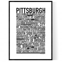 Pittsburgh Poster