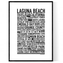 Laguna Beach Poster