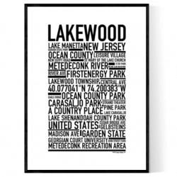 Lakewood NJ Poster