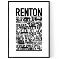 Renton WA Poster