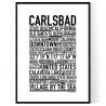 Carlsbad Poster