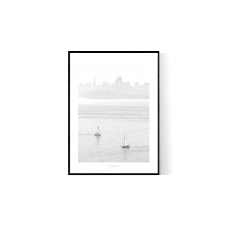 Bay Area Fog Poster