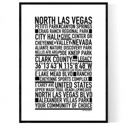 North Las Vegas Poster