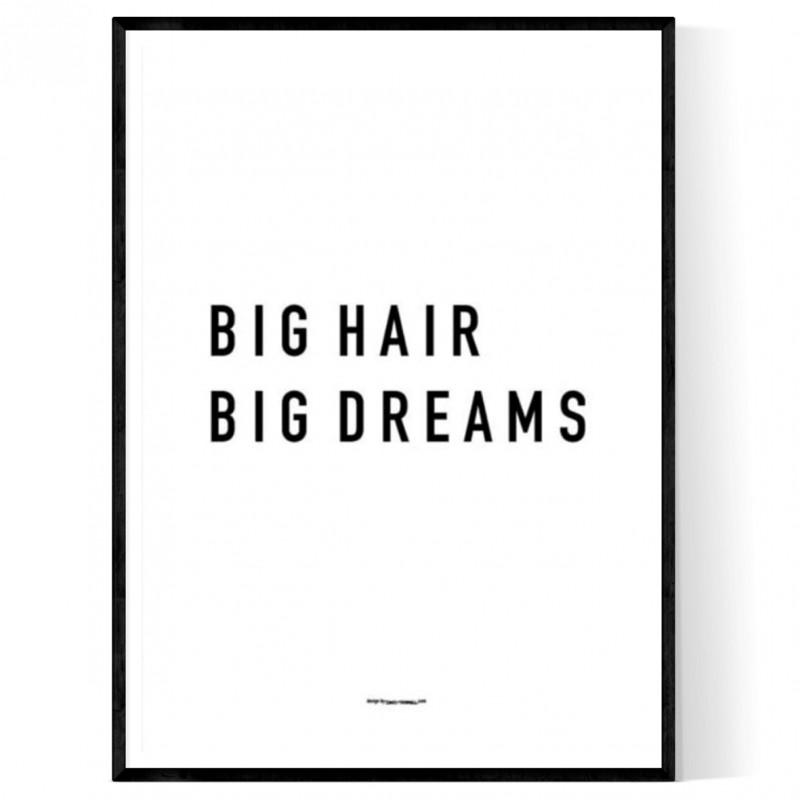 Big Hair Poster