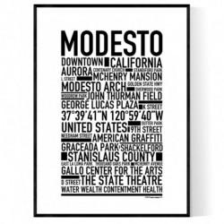 Modesto Poster