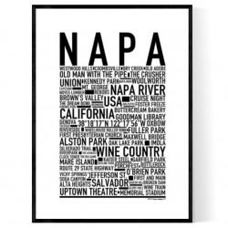Napa Poster