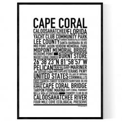 Cape Coral Poster