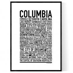 Columbia SC Poster
