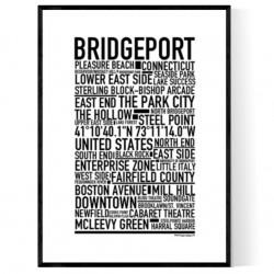 Bridgeport CT Poster