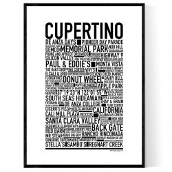 Cupertino Poster