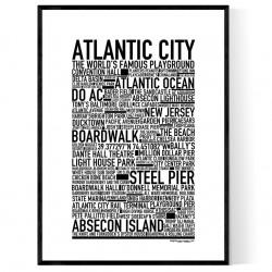 Atlantic City Poster
