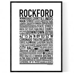 Rockford IL Poster