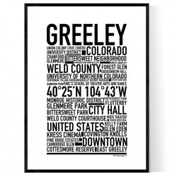 Greeley CO Poster