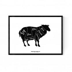 Cuts Lamb Poster