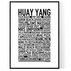 Huay Yang Poster