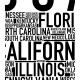 50 States Poster