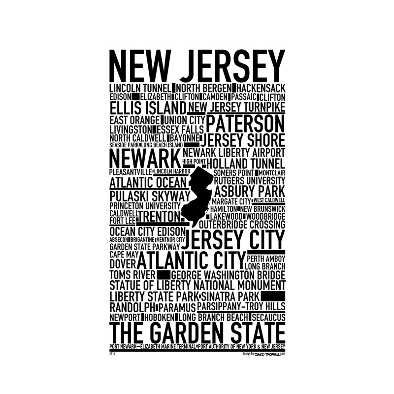 new jersey poster find your posters at wallstars online shop today. Black Bedroom Furniture Sets. Home Design Ideas