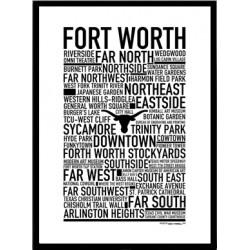Fort Worth Poster