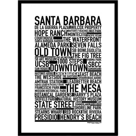 Santa Barbara Poster