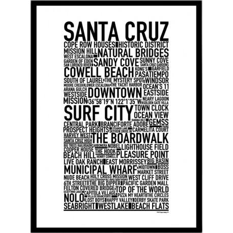 Santa Cruz Poster