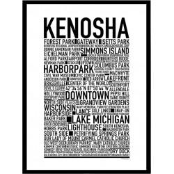 Kenosha WI Poster