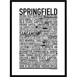 Springfield IL Poster