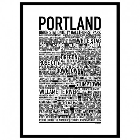 Portland Poster