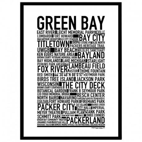 Green Bay Poster