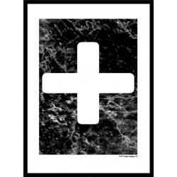 White Plus Poster