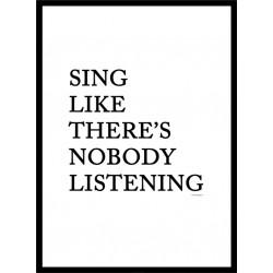 Sing Like Poster