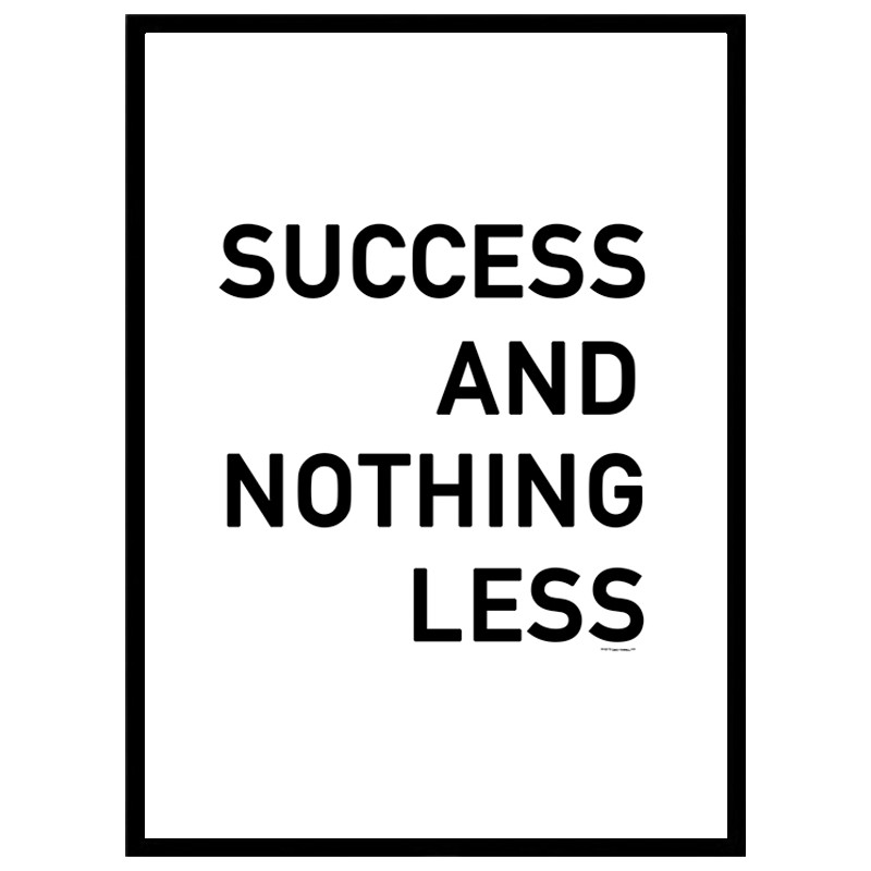Success Poster. Find your posters at Wallstars Online. Shop today!