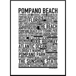 Pompano Beach Poster