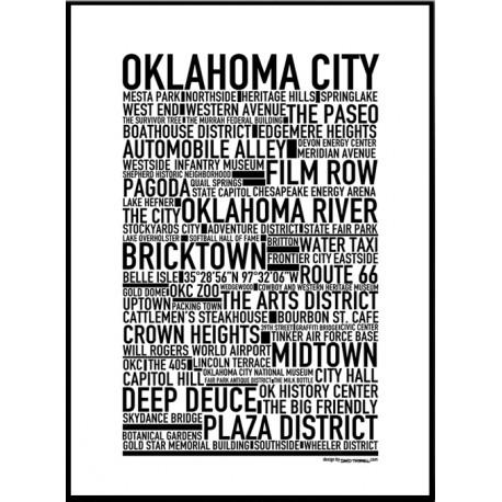 Oklahoma City Poster