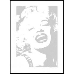 Marilyn Smile Poster