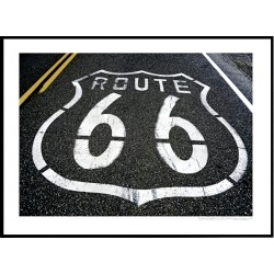 Route 66 Logo Poster