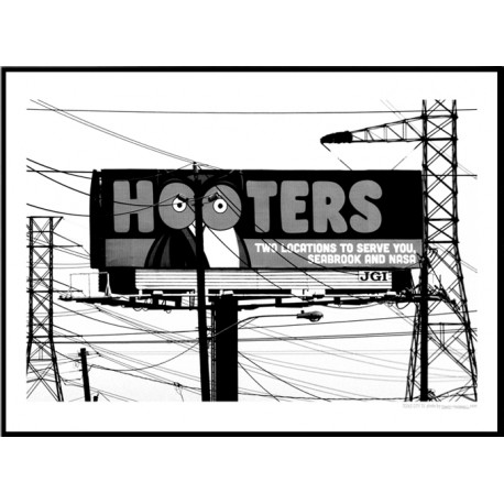 Hooters Poster