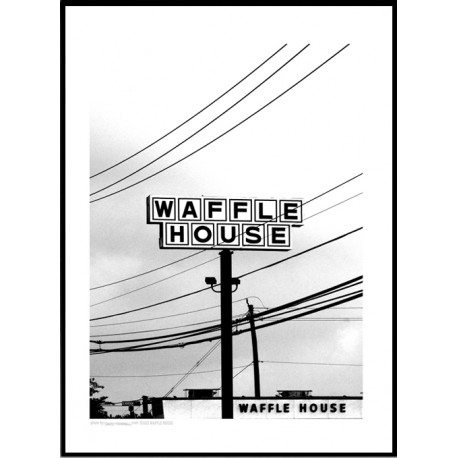 Waffle House Poster