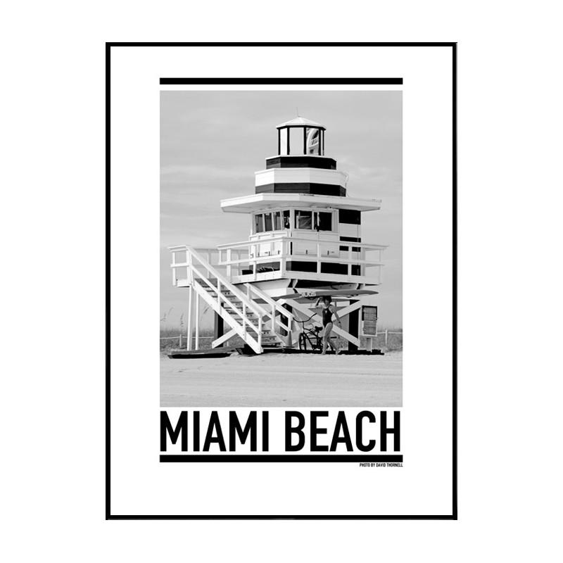 Miami Beach Typography On Wall