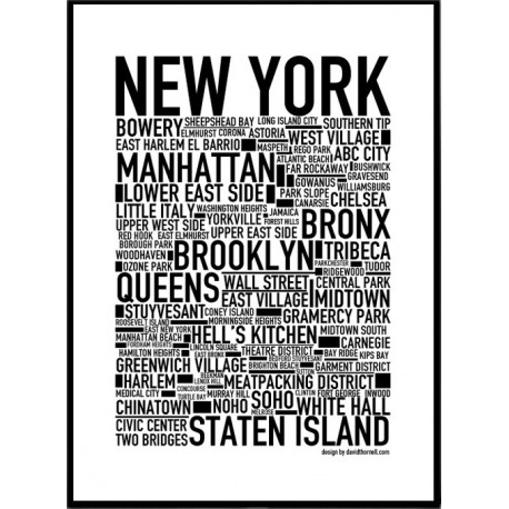 new york poster find your posters at wallstars online. Black Bedroom Furniture Sets. Home Design Ideas