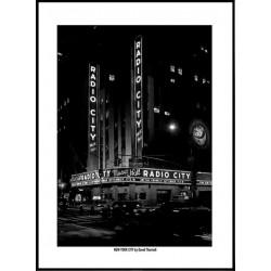 Radio City NYC Poster