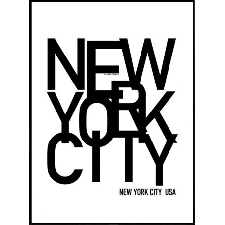 new york city sls poster find your posters at wallstars. Black Bedroom Furniture Sets. Home Design Ideas