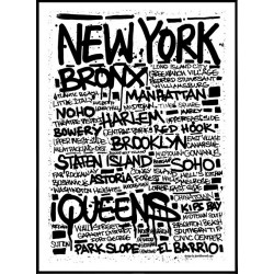 Tags New York Poster