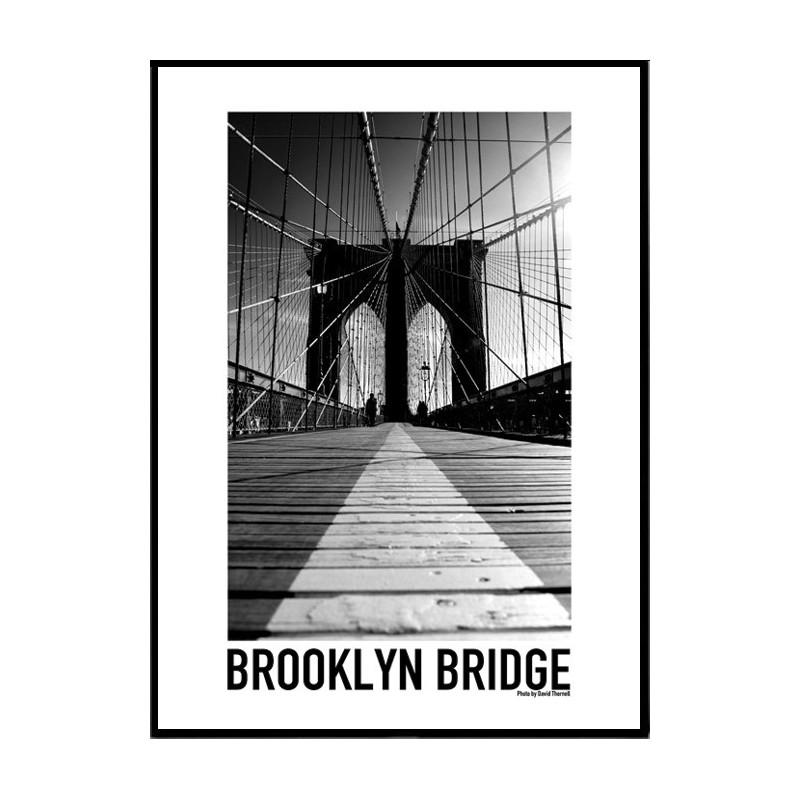 Kitchen Art America Brooklyn Ny: Brooklyn Bridge Poster. Find Your Posters At Wallstars