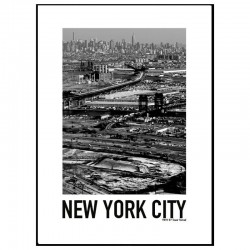 Above New York Poster