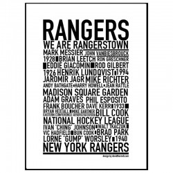 New York Rangers Poster