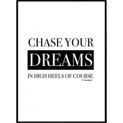 Chase Dreams Poster